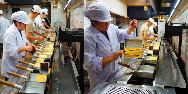 japanese omelets in Tokyo