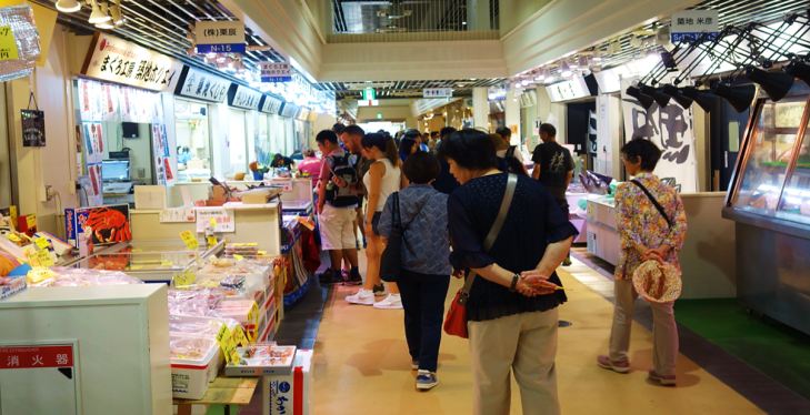 tsujiki fish market outer market tokyo