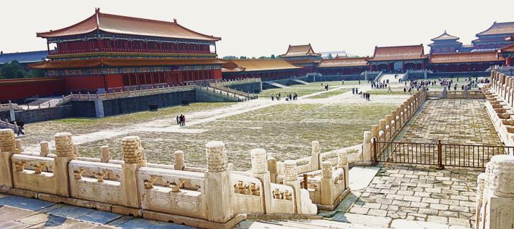 fobidden city center beijing