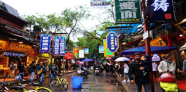 Muslim Quarter Xian