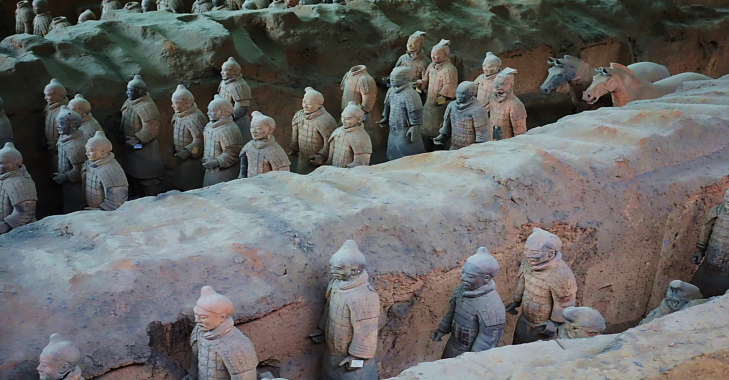terracotta warrior pit 1 xian