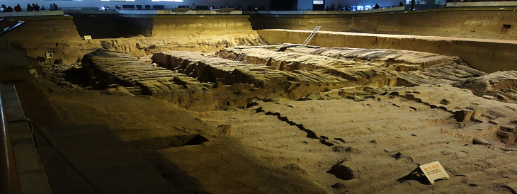Terracotta Warriors Excavation Pit Two