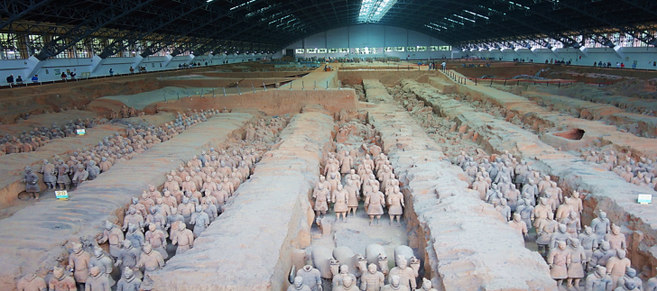 Terracotta Warriors Museum Pit One