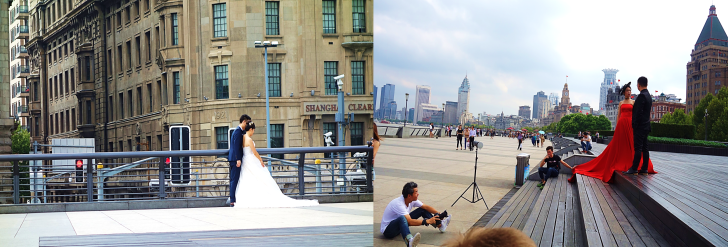 wedding at the bund shanghai