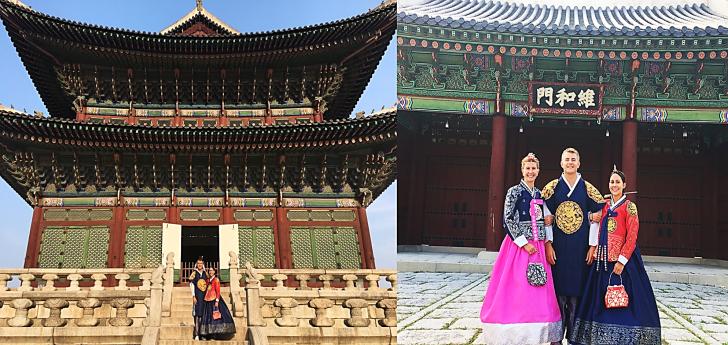 hanboks in seoul