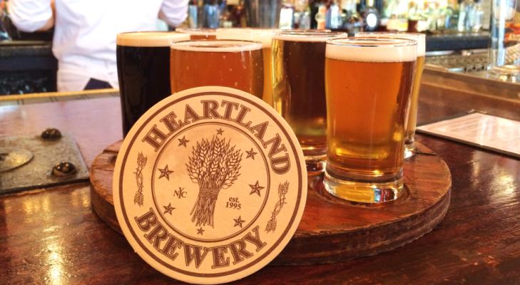 heartland brewery flight
