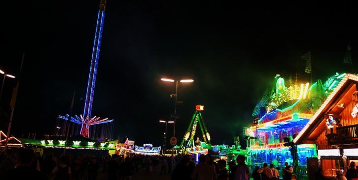 Oktoberfest Rides Germany