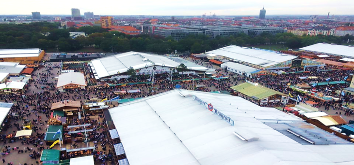 Oktoberfest tents Munich