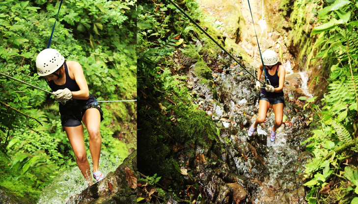 canyoneering la fortuna