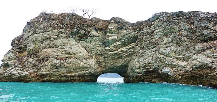 rock islands near tortuga