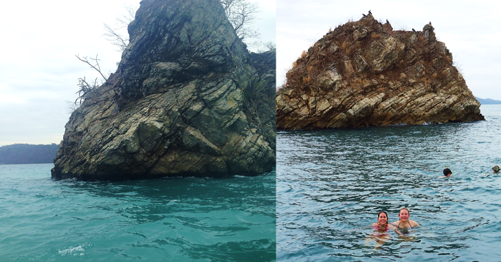 snorkeling at tortuga island costa rica