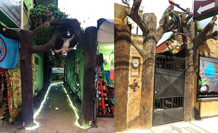 Streets of La Fortuna Costa Rica