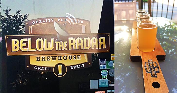 below the radar brewhouse
