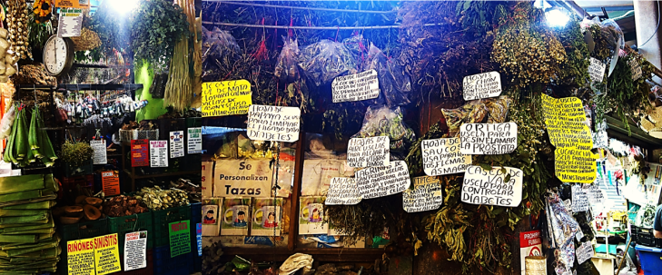 medicinal herbs for sale in central market