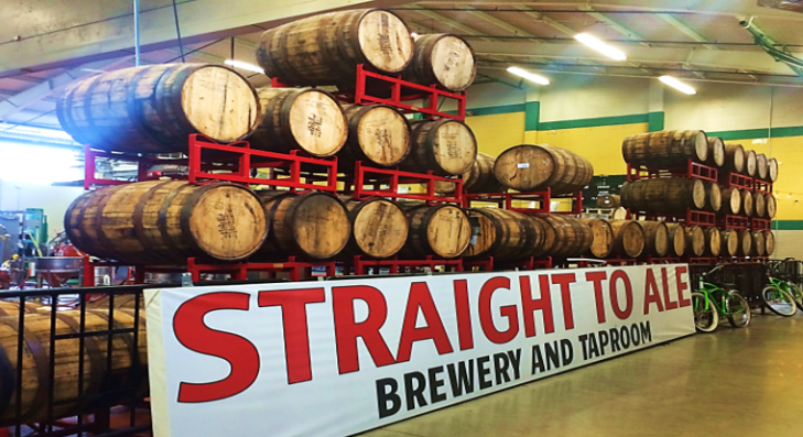 straight to ale brewery and tap room