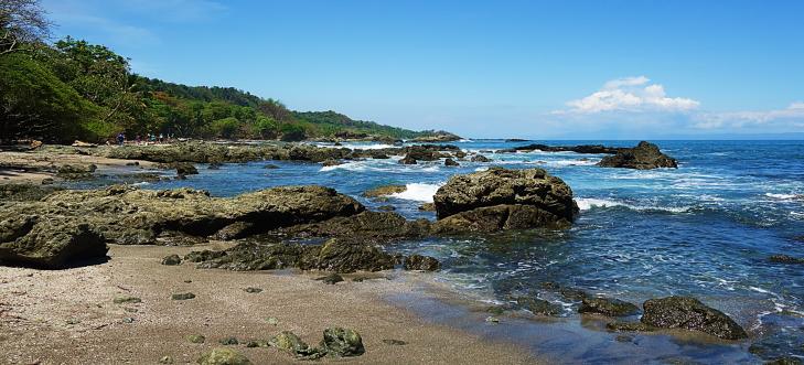 volcanic beach montezuma