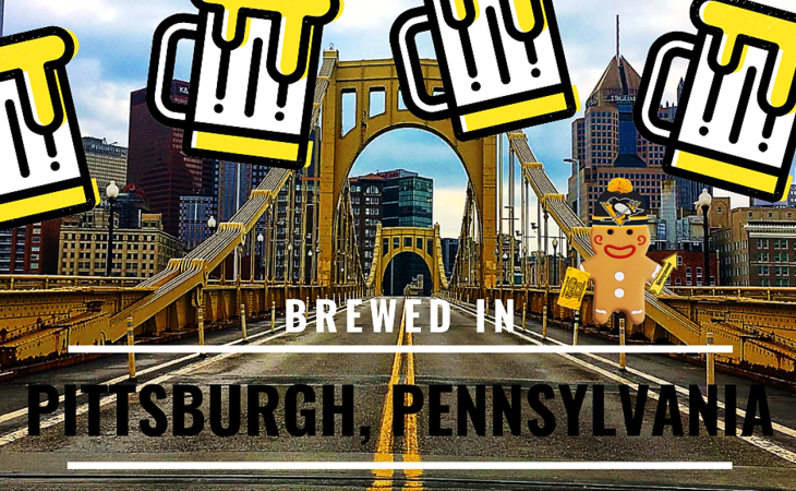 brewed in pittsburgh pennsylvania