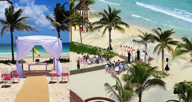 wedding at Grand Residences Mexico