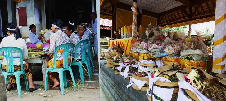 Preparing Ceremonial Food at the Goa Gajaj