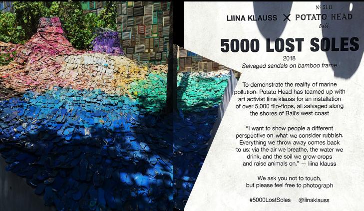 5000 Lost Soles in Bali