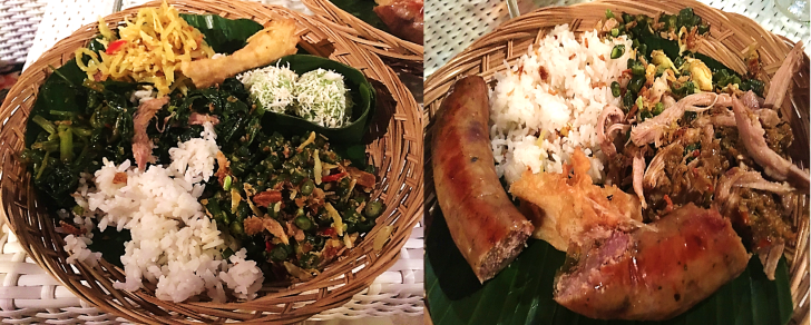 balinese food at karma kandra