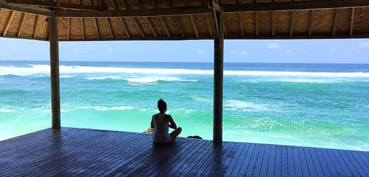 yoga studio at karma kandara