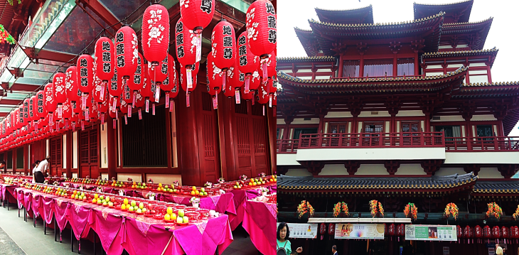 buddah tooth relic temple offerings