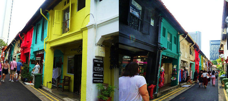 colorful shops of kampong glam