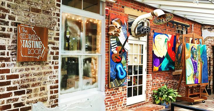 The Georgia Tasting Room Savannah