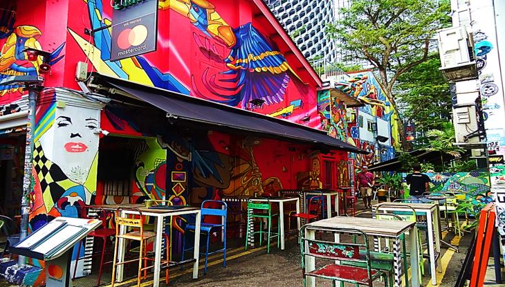 Kampong Glam Chair Restaurant Singapore
