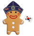 South Korea Gingerbread