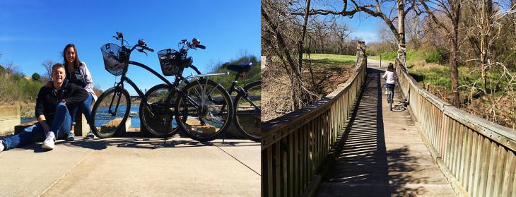 Biking in San Antonio TX