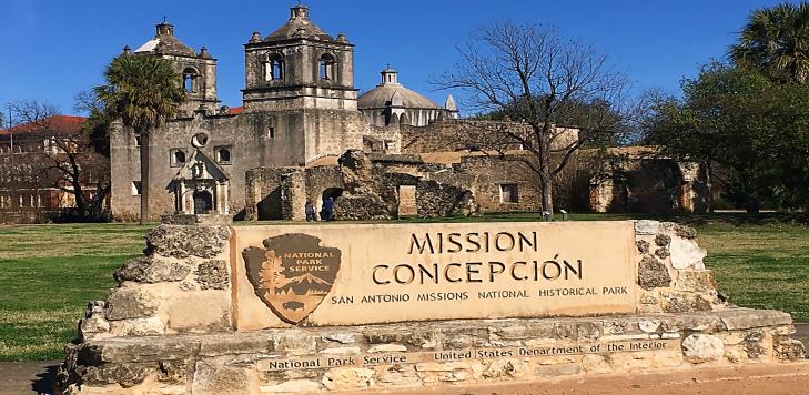 Mission Concepion San Antonio