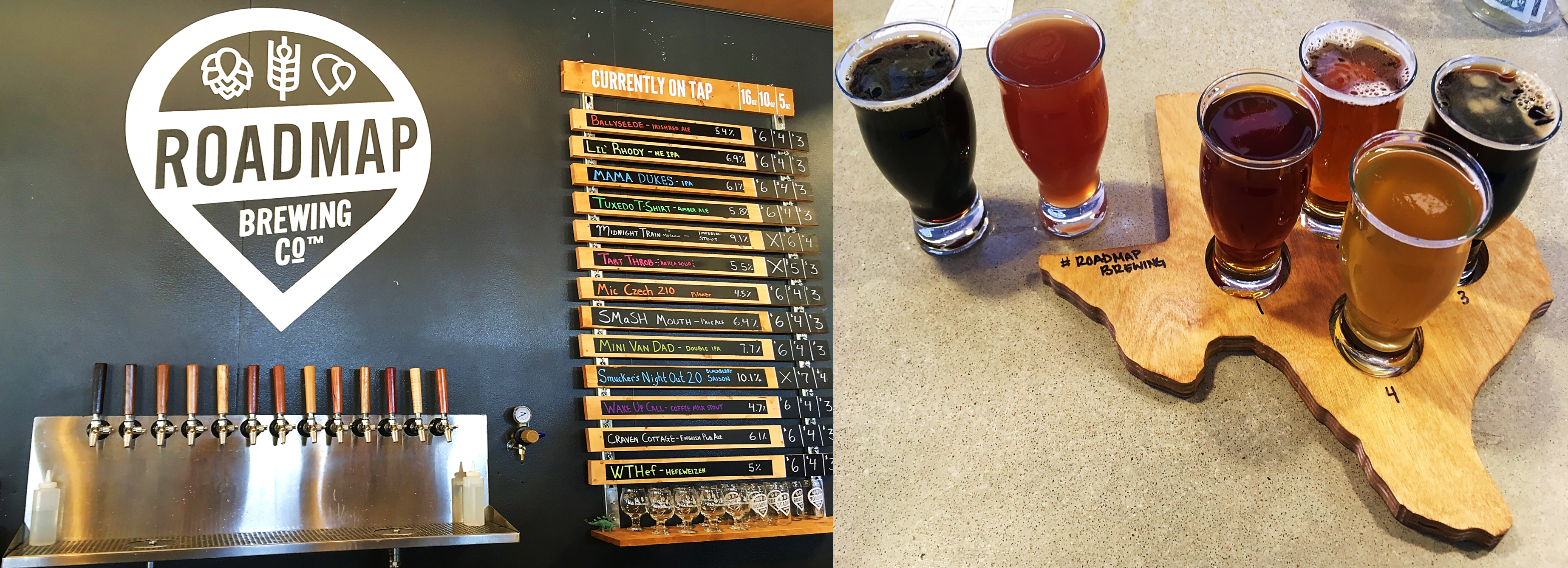 Roadmap Brewing Company san antonio