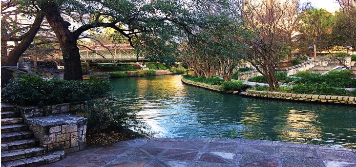 San Antonio Riverwalk Texas