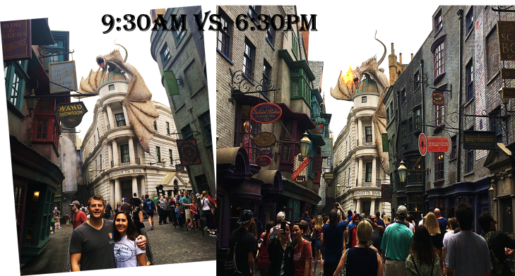 Us at Diagon Alley