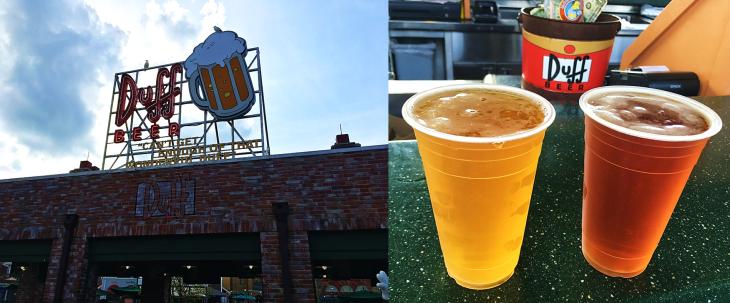 Duff Brewery Beer