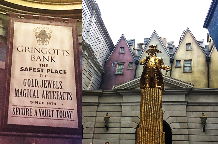 Gringotts Bank Diagon Alley