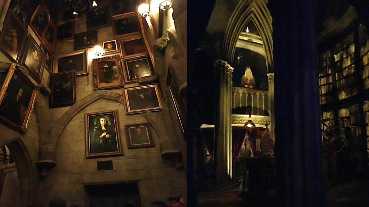 Inside the Hogwarts Castle Hogsmeade