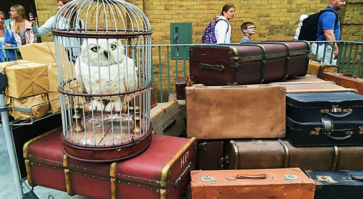 Kings Cross Luggage Diagon Alley