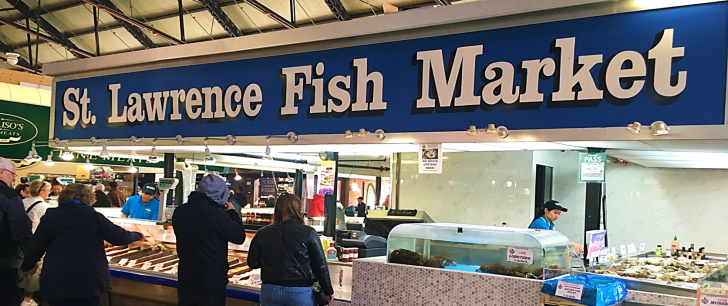st. lawrence fish market