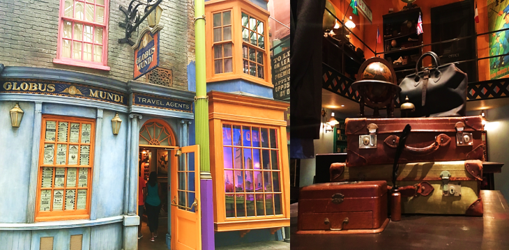 Globus Mundi Travel Diagon Alley