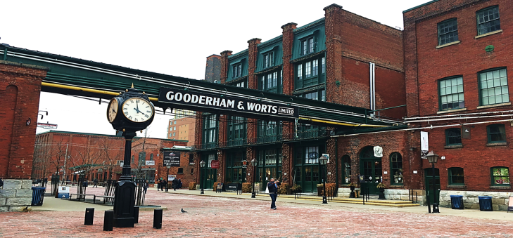 Gooderham & Worts Distillery District
