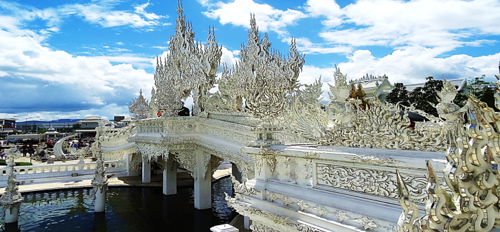 bridge to the white temple