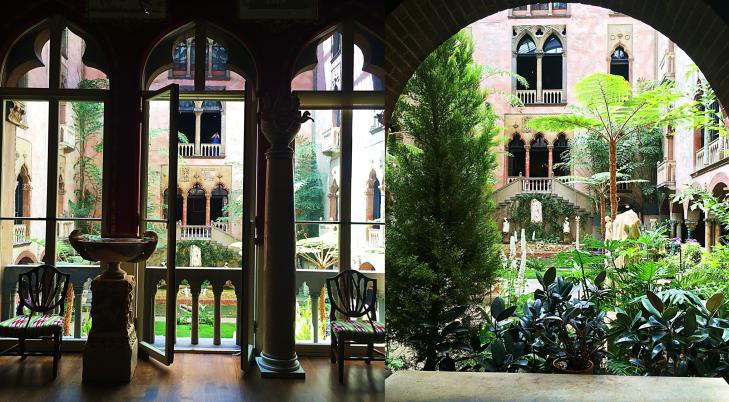 Isabell Stewart Gardner Courtyard view