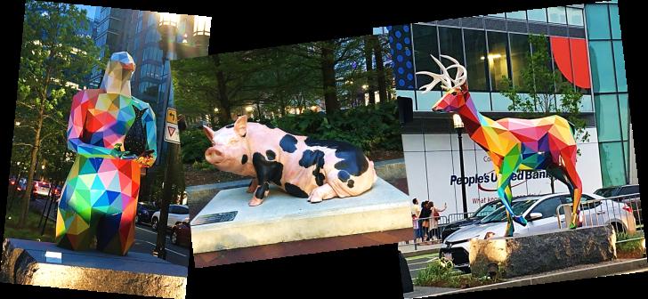 art statues in boston