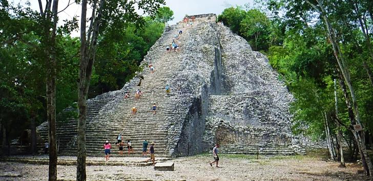 Coba Pyramid in Quintana Roo