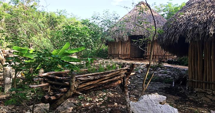 mayan village homes