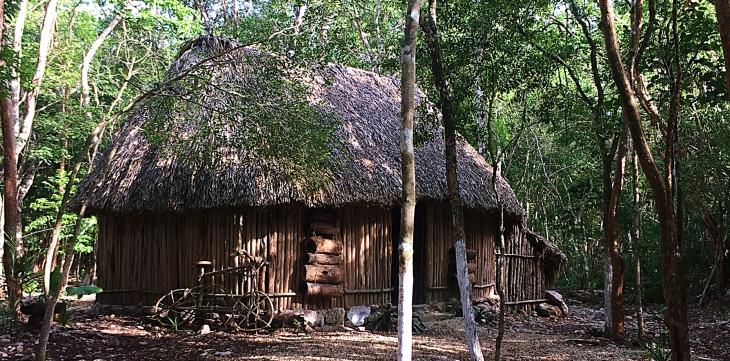 Mayan Village house
