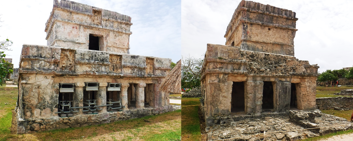 Temple of Frescos Tulum